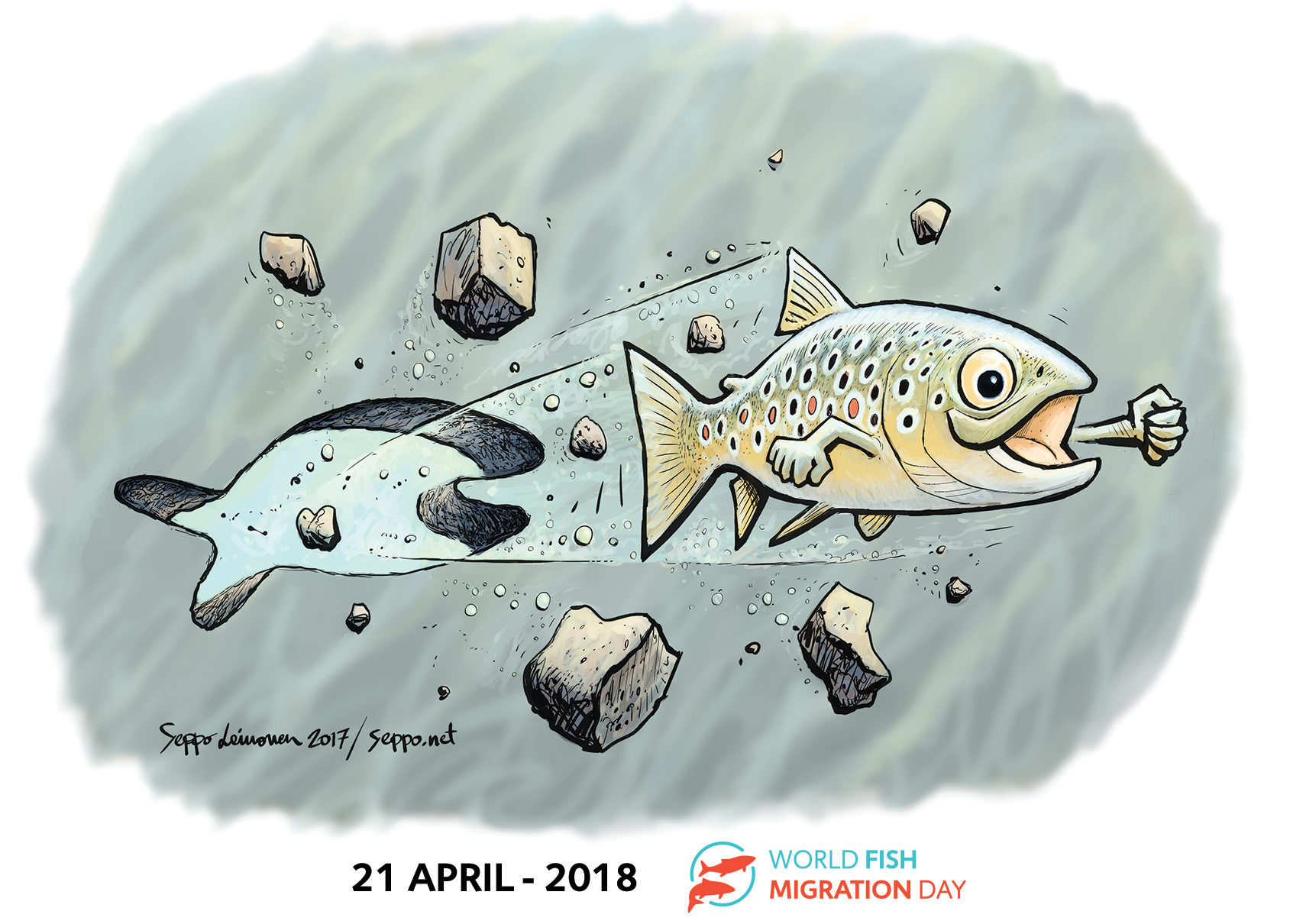 Ga mee op excursie tijdens de World Fish Migration Day!